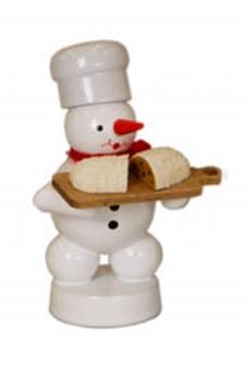 Bäcker Schneemann mit Stollen