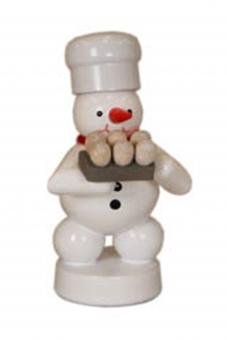 Bäcker Schneemann mit Eier