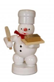 Bäcker Schneemann mit Butter