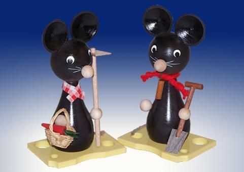Mama- und Papa-Maus